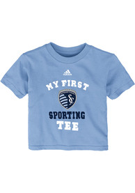 Sporting Kansas City Infant My First T-Shirt - Light Blue