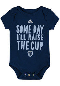 Sporting Kansas City Baby Navy Blue The Cup One Piece