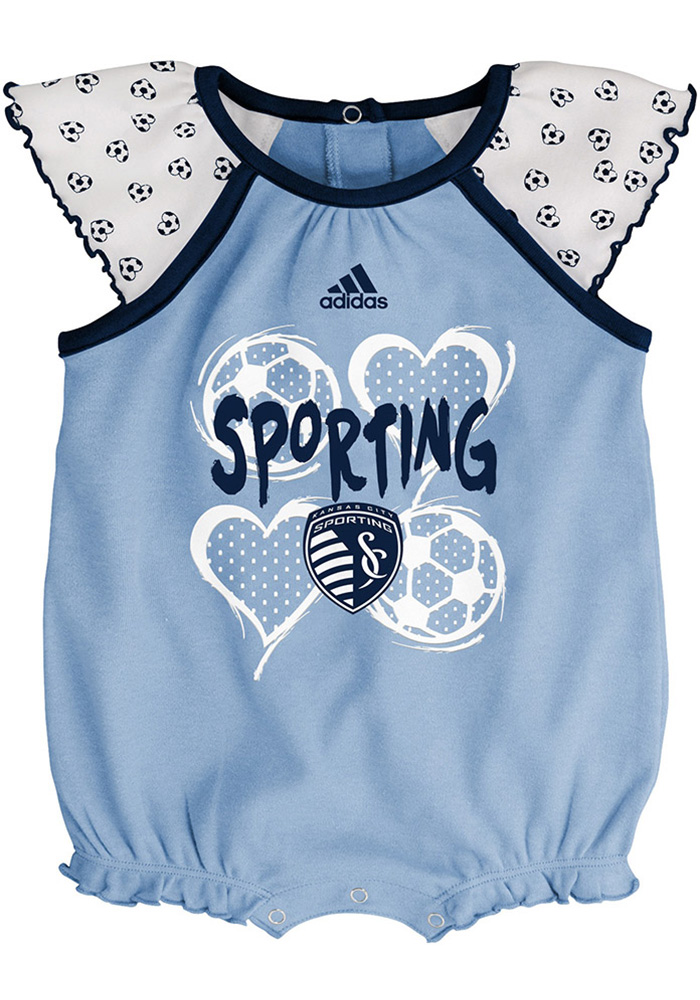 Sporting Kansas City Baby Light Blue Tie-Breaker Set One Piece - Image 3