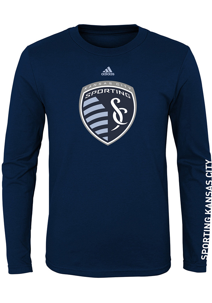 Sporting Kansas City Youth Navy Blue Leave A Mark T-Shirt