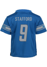 Matthew Stafford Detroit Lions Boys Nike Replica Football Jersey - Blue