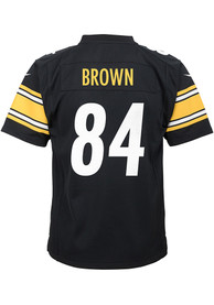 Antonio Brown Pittsburgh Steelers Boys Nike Replica Football Jersey - Black