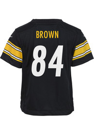 Antonio Brown Pittsburgh Steelers Toddler Nike Replica Football Jersey - Black