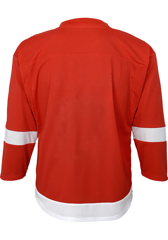 Detroit Red Wings Youth Red Replica Hockey Jersey - Image 2