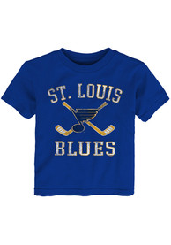 St Louis Blues Toddler Blue Sticks T-Shirt