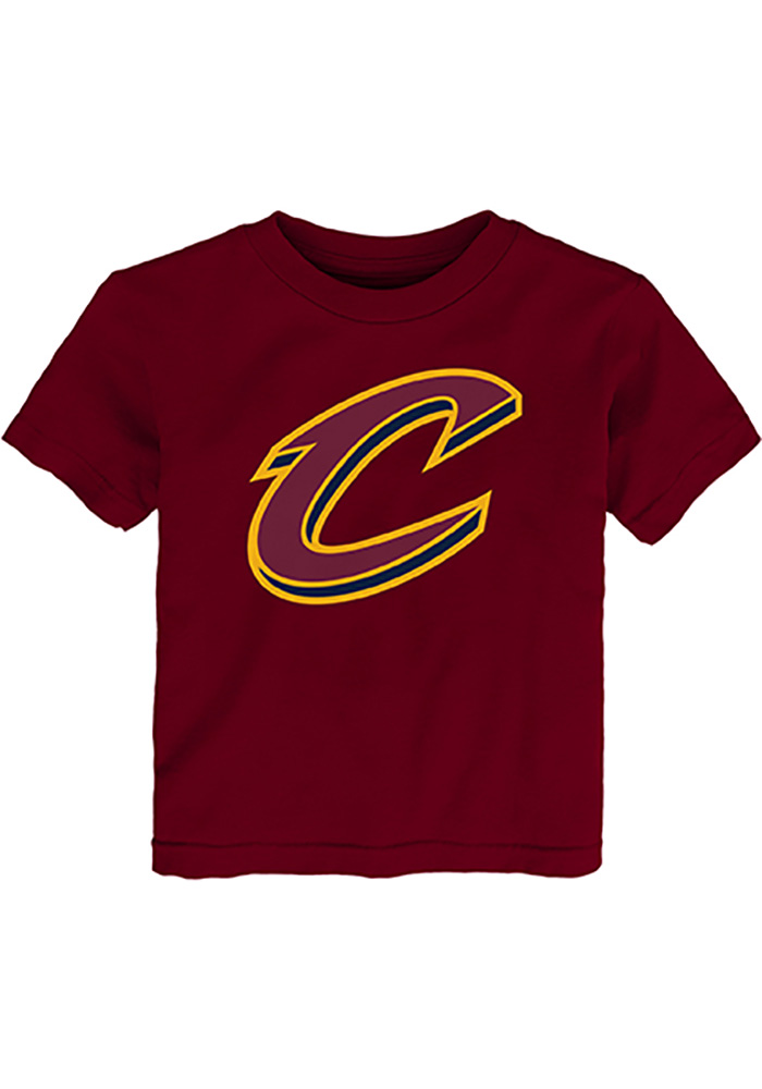 100% authentic c969b 92cda Cleveland Cavaliers Toddler Red Logo Short Sleeve T-Shirt