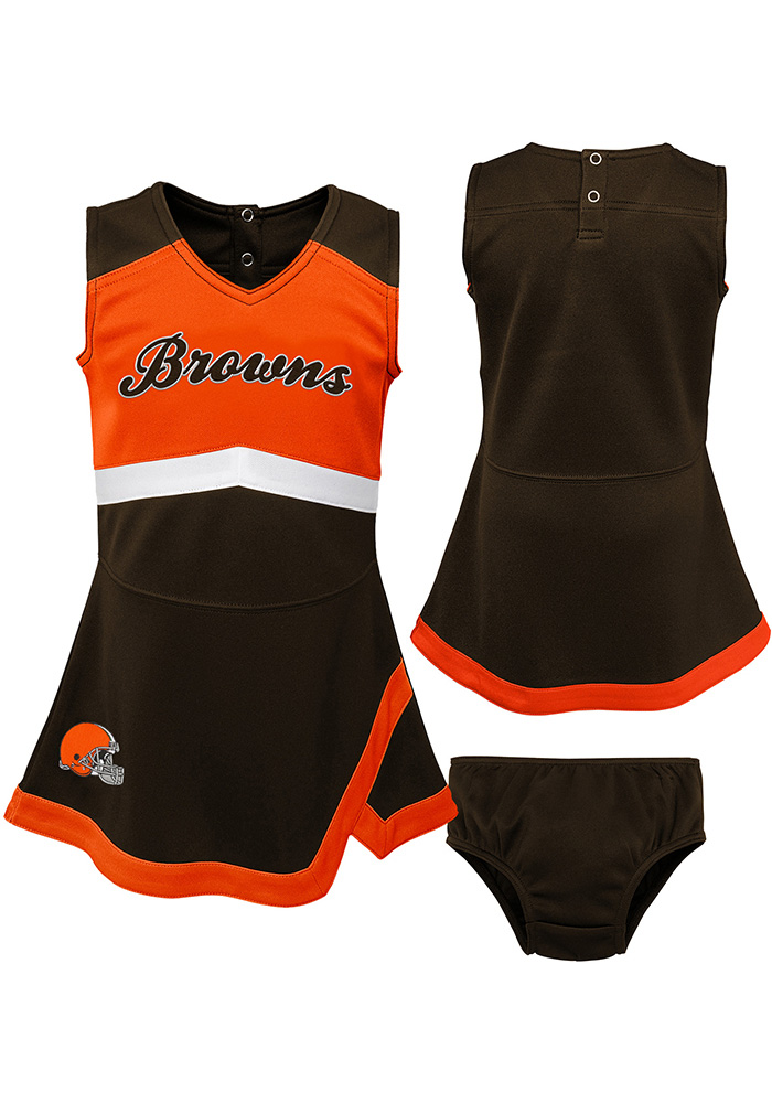 Cleveland Browns Baby Brown Cheer Captain Set Cheer - Image 2
