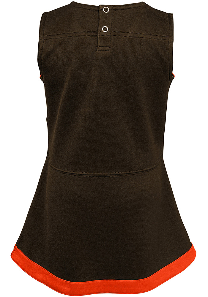 Cleveland Browns Baby Brown Cheer Captain Set Cheer - Image 3