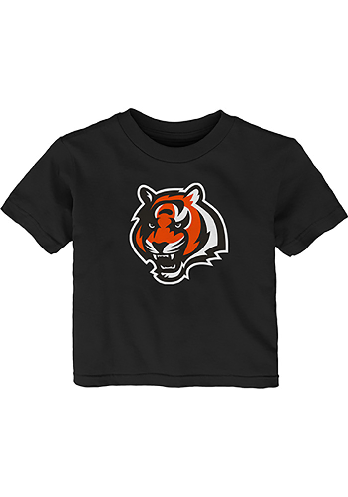 Cincinnati Bengals Infant Primary Short Sleeve T-Shirt Black - Image 1