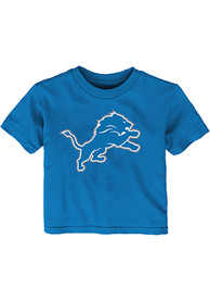 Detroit Lions Infant Primary T-Shirt - Blue