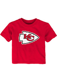 Kansas City Chiefs Infant Primary T-Shirt - Red