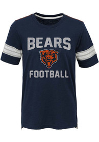 Chicago Bears Youth Navy Blue Prestige Fashion Tee