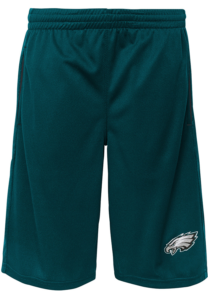 Philadelphia Eagles Youth Teal Vector Shorts - Image 1
