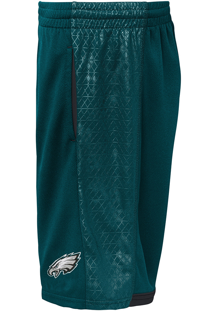 Philadelphia Eagles Youth Teal Vector Shorts - Image 2