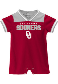 Oklahoma Sooners Baby Game-Day One Piece - Crimson