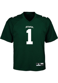 Michigan State Spartans Toddler Gen 2 Football Jersey - Green