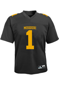 Missouri Tigers Toddler Gen 2 Football Jersey - Black
