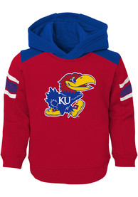 Kansas Jayhawks Toddler Touch Down Top and Bottom - Blue