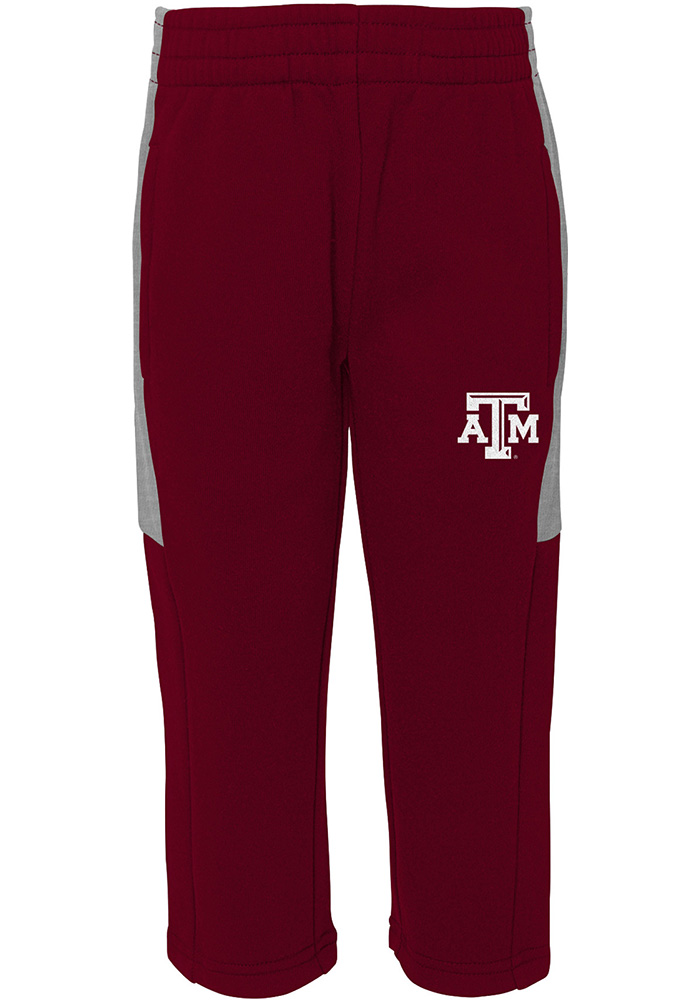 Texas A&M Aggies Toddler Maroon Touch Down Set Top and Bottom - Image 3