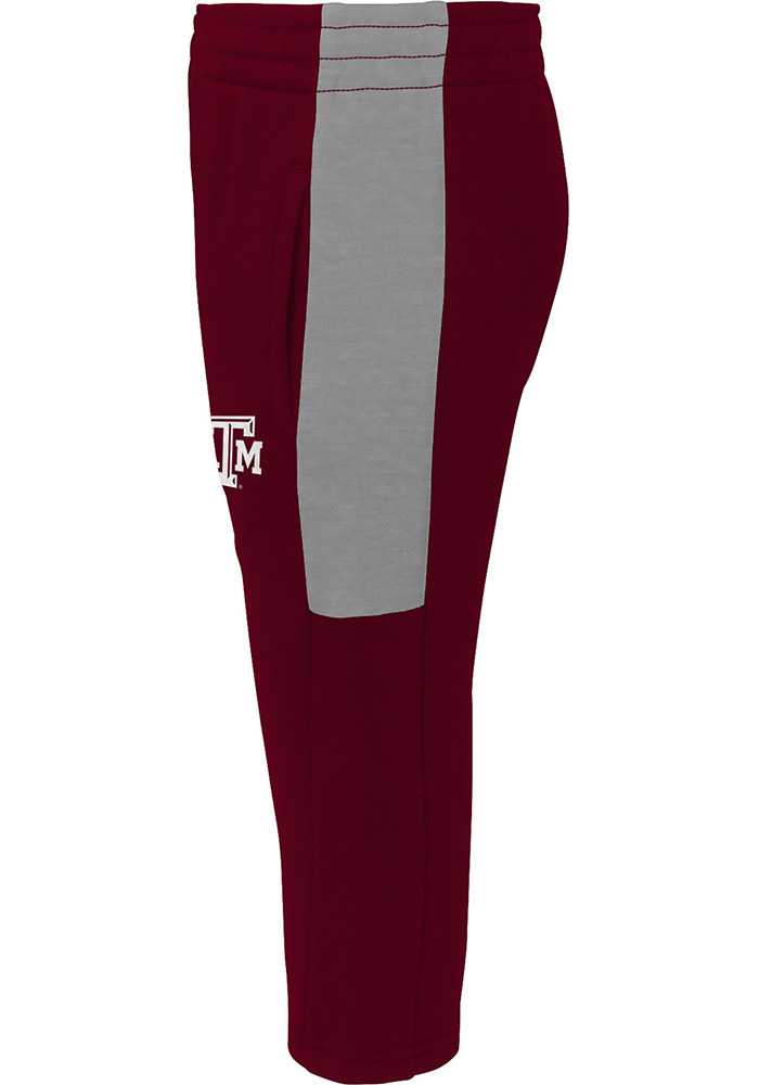Texas A&M Aggies Toddler Maroon Touch Down Set Top and Bottom - Image 4