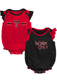 Texas Tech Red Raiders Baby Homecoming One Piece - Black