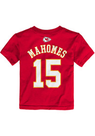 a9f1ece8 Patrick Mahomes Kansas City Chiefs Toddler Red Player Player Tee