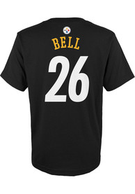 Le'Veon Bell Pittsburgh Steelers Youth Player T-Shirt - Black