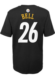 Le'Veon Bell Pittsburgh Steelers Boys Outer Stuff Player T-Shirt - Black