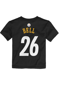 Le'Veon Bell Pittsburgh Steelers Toddler Black Player Player Tee