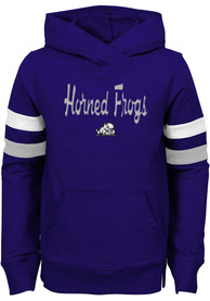 TCU Horned Frogs Girls Claim to Fame Hooded Sweatshirt - Purple