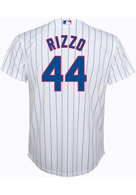 Anthony Rizzo Chicago Cubs Boys Outer Stuff 2019 Home Baseball Jersey - White