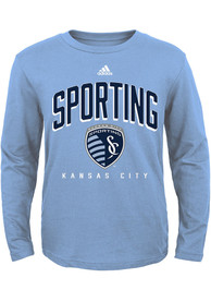 Sporting Kansas City Youth Light Blue Arched Standard T-Shirt