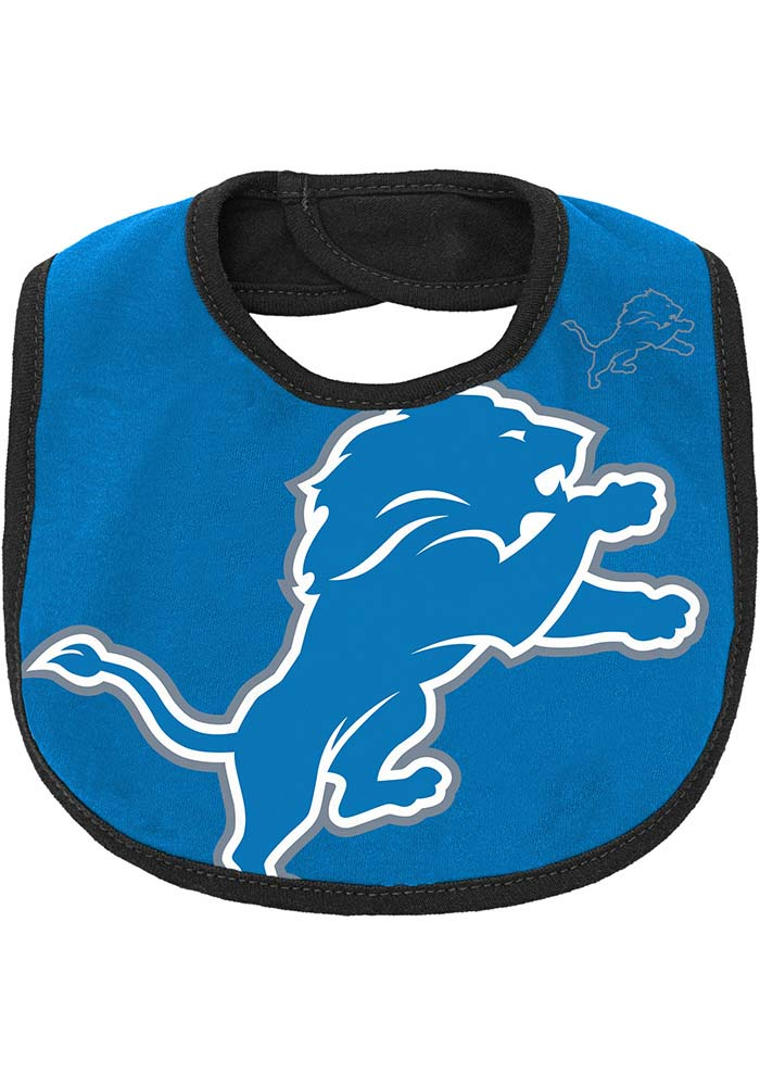 Detroit Lions Baby Blue 50 Yard Dash Set One Piece with Bib - Image 4