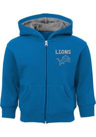 Detroit Lions Baby Red Zone Full Zip Sweatshirt - Blue