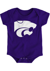 K-State Wildcats Baby Purple Primary Logo One Piece