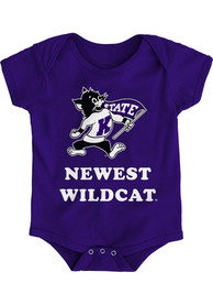 K-State Wildcats Baby Purple Newest One Piece