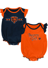 Chicago Bears Baby Homecoming One Piece - Navy Blue