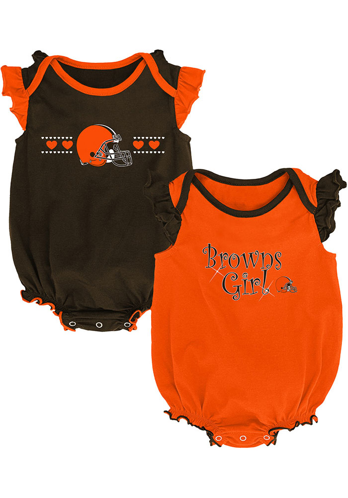 Cleveland Browns Baby Brown Homecoming Set One Piece - Image 1