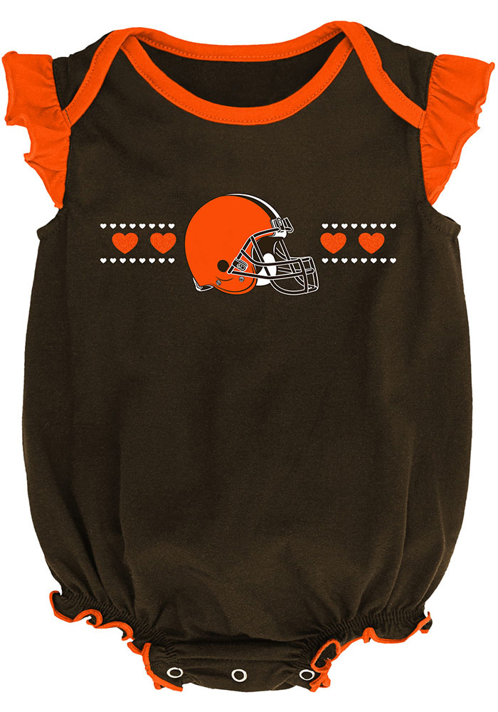 Cleveland Browns Baby Brown Homecoming Set One Piece - Image 2