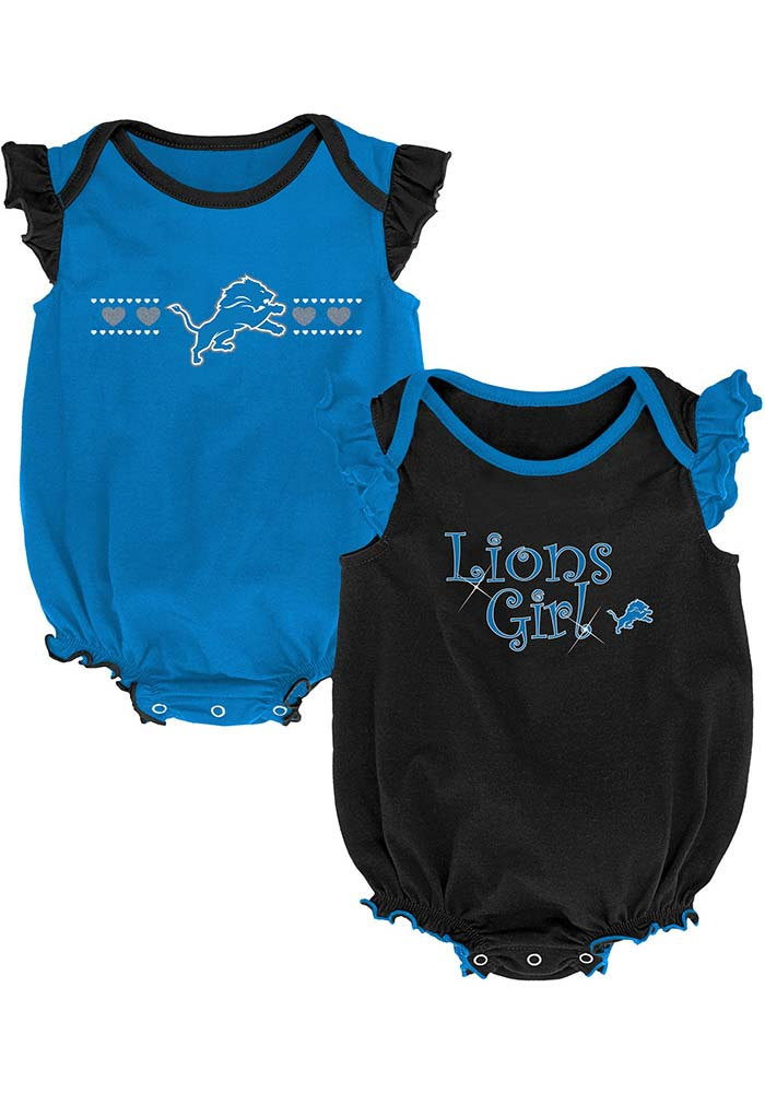 Detroit Lions Baby Blue Homecoming Set One Piece - Image 1