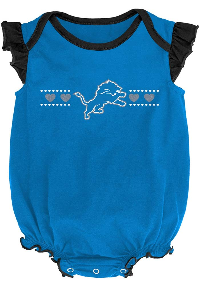 Detroit Lions Baby Blue Homecoming Set One Piece - Image 2