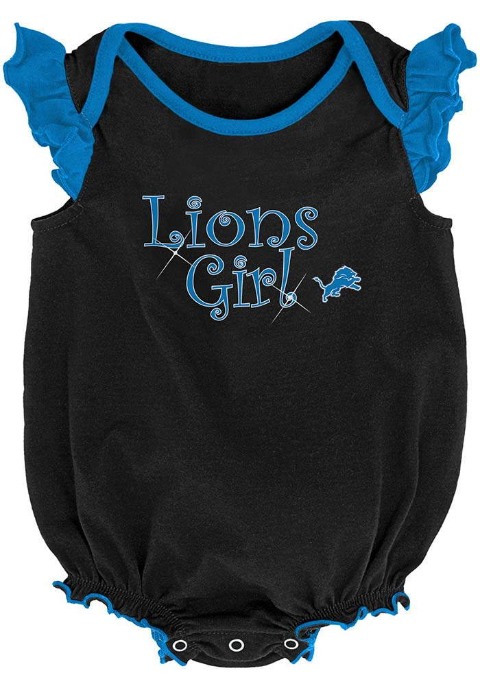 Detroit Lions Baby Blue Homecoming Set One Piece - Image 3