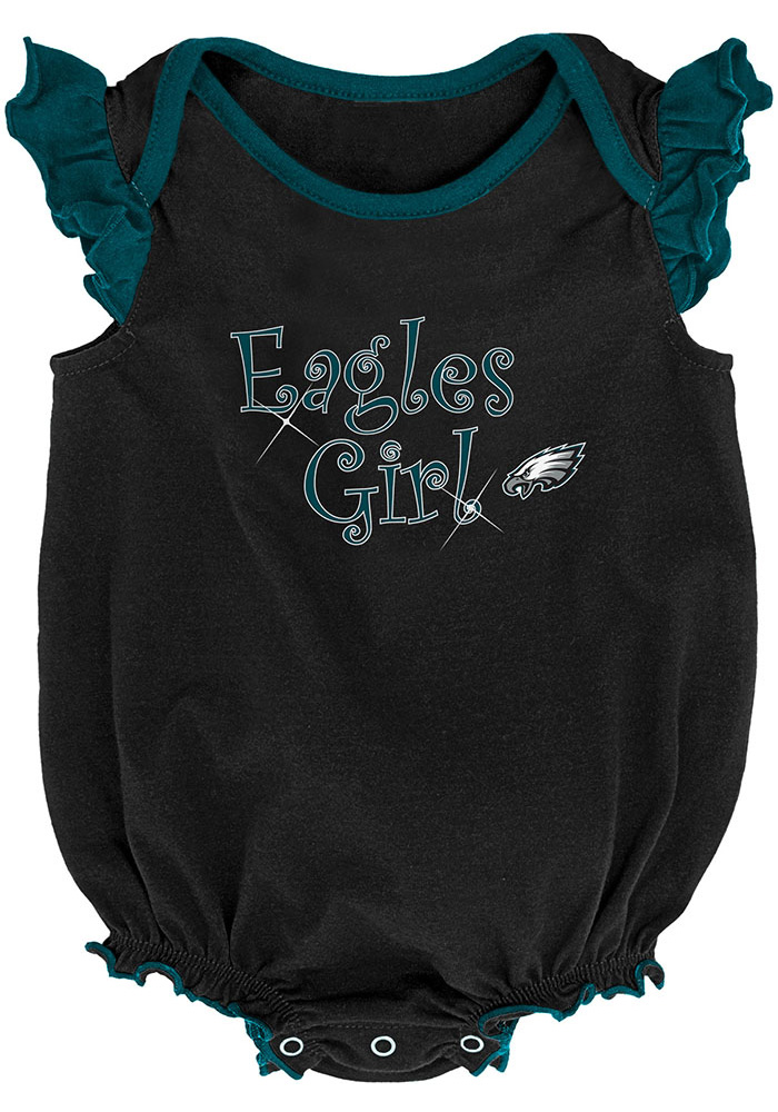 Philadelphia Eagles Baby Teal Homecoming Set One Piece - Image 3