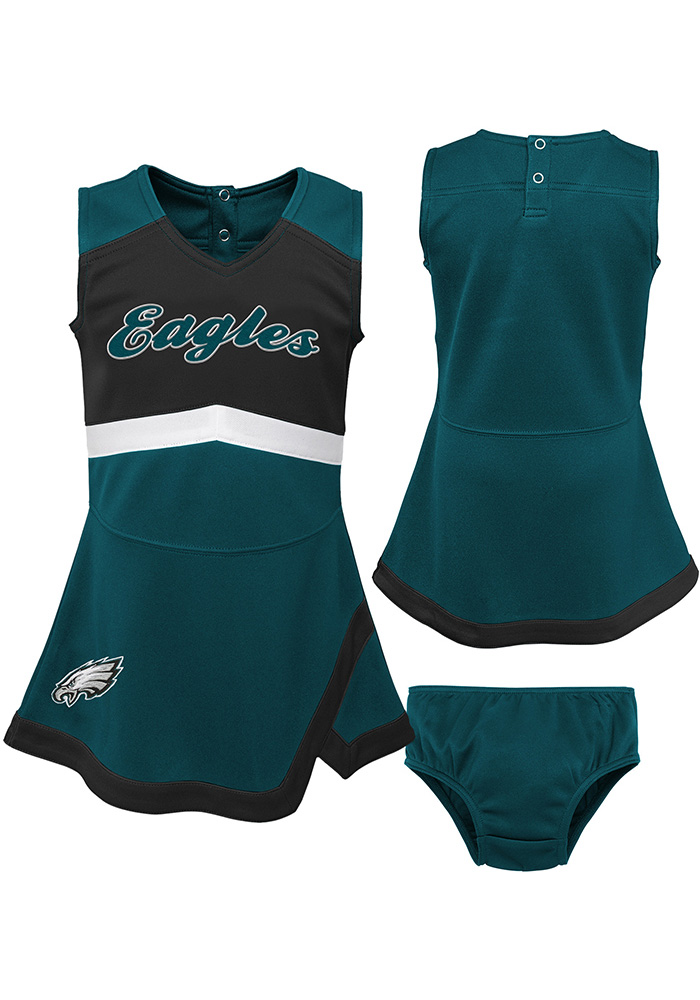 Philadelphia Eagles Baby Teal Cheer Captain Set Cheer - Image 1