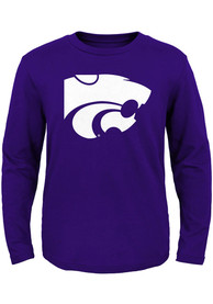 K-State Wildcats Toddler Purple Primary Logo T-Shirt