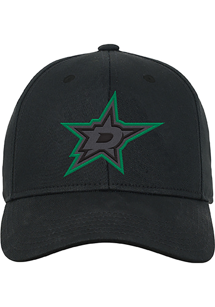 Dallas Stars Green Color Pop Youth Adjustable Hat - Image 1