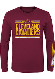 info for ee684 ac41e Cleveland Cavaliers Youth Red Orion T-Shirt