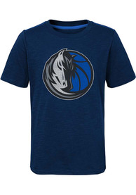 Dallas Mavericks Youth Classic Fashion T-Shirt - Blue