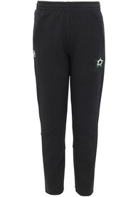 Dallas Stars Youth Poly Tech Track Pants - Black