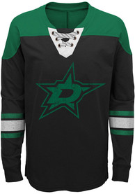 Dallas Stars Youth Perennial Crew Sweatshirt - Black
